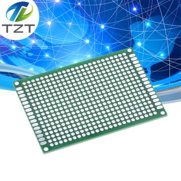 10PCS Double side Prototype PCB Tinned Universal board 5x7 5*7cm green
