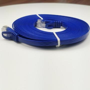 Pure Copper Flat Cat 6 RJ45 Network Cable