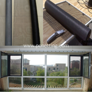 Anti-dust Fiberglass Roll-up Fly Window Screening