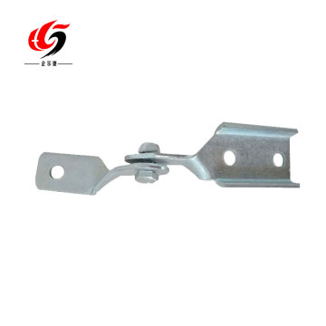 galvanized strut channel hinge