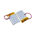 Factory Rechargeable 3.7 V 600Mah Lithium Polymer Battery