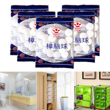 House Moth Expel Camphor Ball Wardrobe Shoe Odor Removal Insect-resistant Moth-proof Natural Camphor Ball Mouldproof Camphor