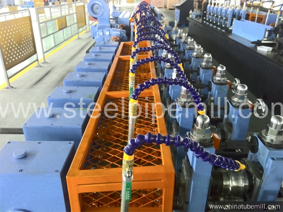 welded square pipe production line