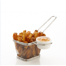 Stainless Steel Kitchen Cooking Basket Mesh