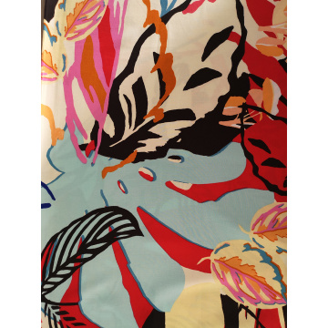 Tropical Design Rayon Challis 30S Light Printing Fabric