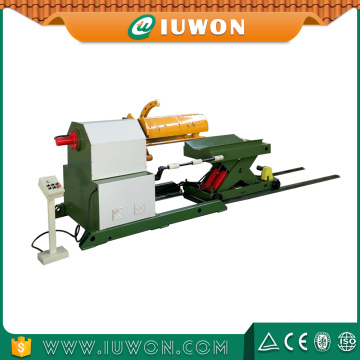 IUWON Hydraulic Steel Sheet Coil Decoiler for Sale
