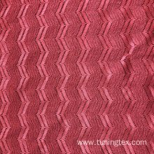 Knitted Crinkle With Hollow Wave Fabric