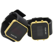 Black Children Wrist LED Digital Watch