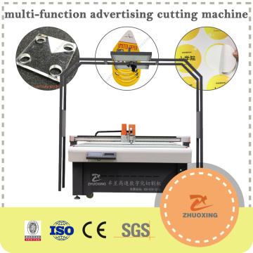 High Precision Rubber Gasket CNC Knife Cutter Machine