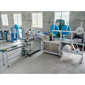 Fully automatic face mask production line