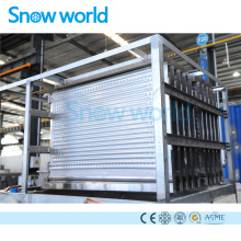 Snow world Stainless Steel Plate Ice Evaporator