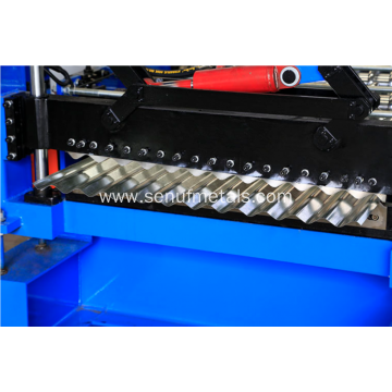 corrugated sheets manufacturing process roll forming machine
