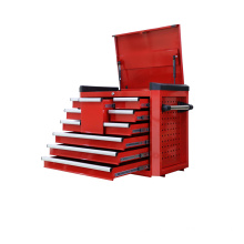 "28"" Red Top Chests Ball Bearing Drawers"