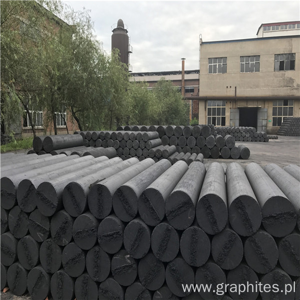 UHP 500 550 Length2100 2400 Carbon Graphite Electrodes