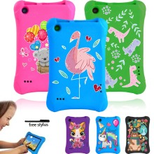 Anti-fall EVA Tablet Cover Case for Amazon Fire 7 5th Gen 2015/7th Gen 2017/9th Gen 2019 Anti-slip Kids Safe Tablet Case 7 Inch