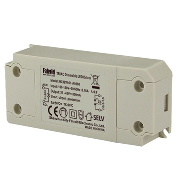 UL Triac dimmable Driver 12W Max Output