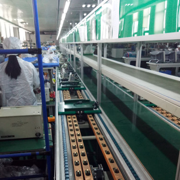 Free Flow Chain Conveyor LED TV Assembly Line