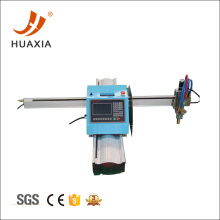 Portable flame cutting machine added plasma cutting