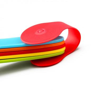 Colored Plastic Measuring  Spoons