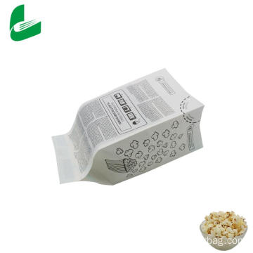 Kraft greaseproof paper microwavable popcorn bags