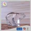 Transparency Glass Bear Statue For Gift