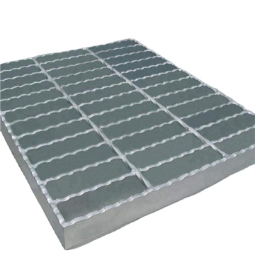 Hot Dipped Galvanized Metal Safety Steel Step Grating