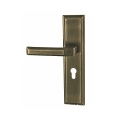 Door Lock Panel by Zinc Alloy Die Casting