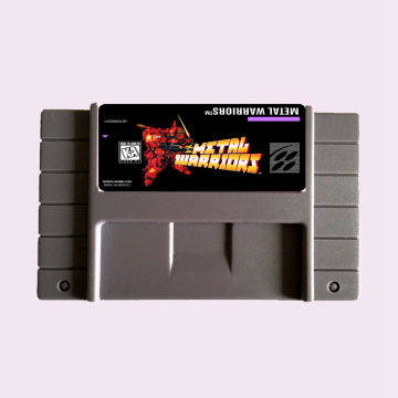 High Quality 16 Bit Metal Warriors NTSC Big Gray Game Card For USA Version Game Player