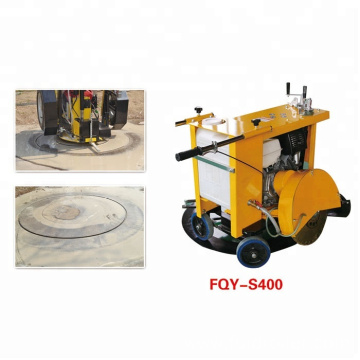 Manual Steel Pipe Circular Saw Cutting Machine FQY-S400