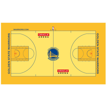 3D Customized Indoor Basketball Flooring