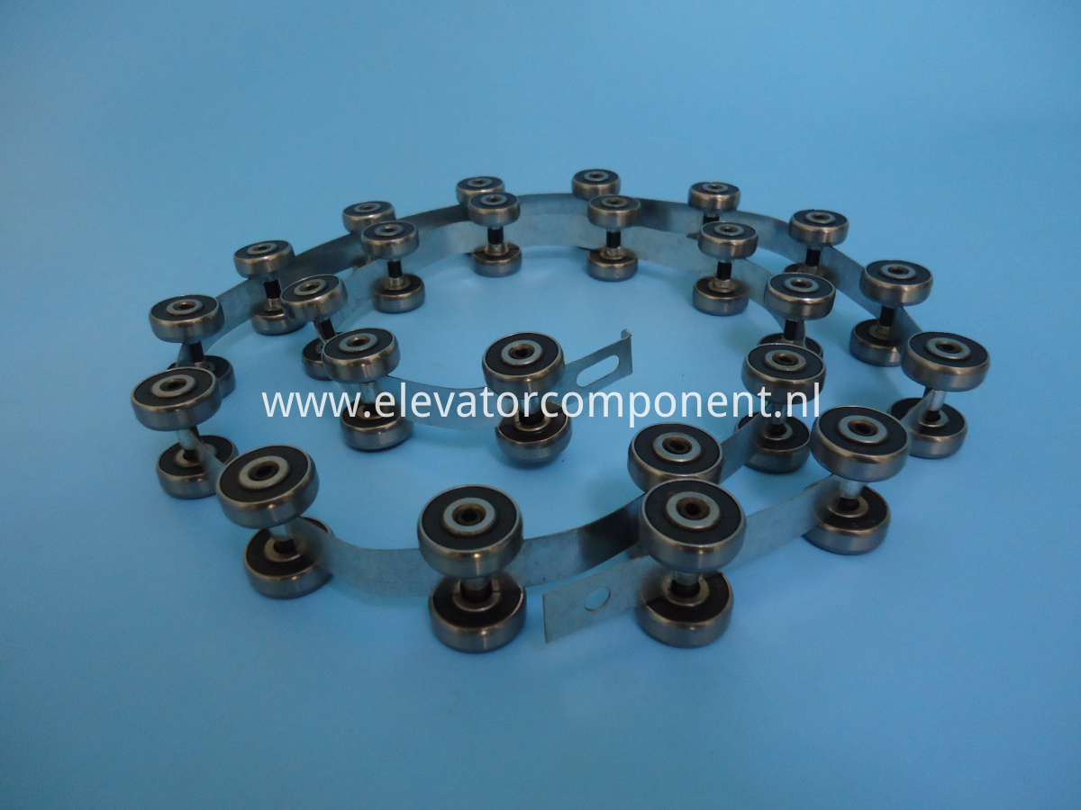 Rotating Chain for ThyssenKrupp Velino Escalator 24 pair Rollers, Length 1270mm