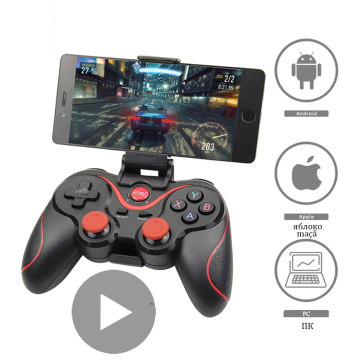 Wireless Trigger Bluetooth Joystick for Cell Phone Gamepad Android iPhone PC Mobile Smartphone Game Controller Control Cellphone