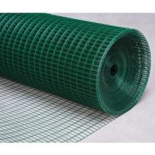 square welded mesh galvanised fence