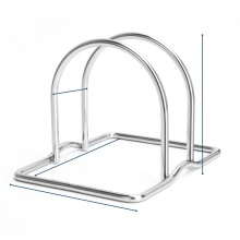 stainless steel cutting board organizer rack