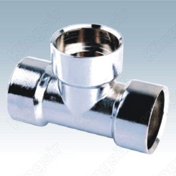 Polished Chrome Pipe Fitting