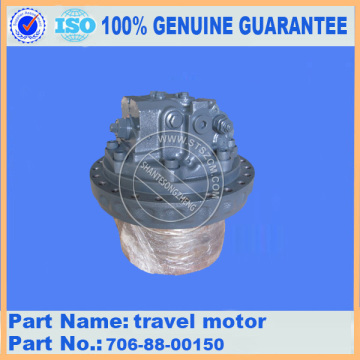 Komatsu travel motor ass'y 706-88-00150 for PC400-6