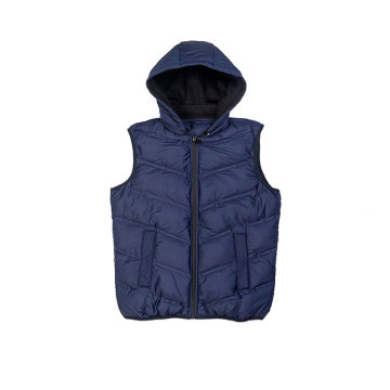 Male`s seamless padding vest Fall Winter