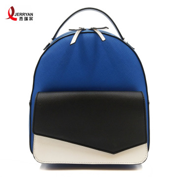 Small Nice Blue Backpack for Young Ladies