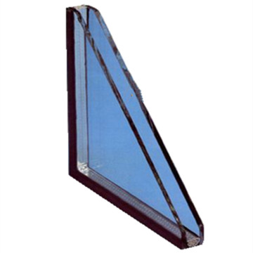 Custom Size Ocen Blue Tinted Toughened Hollow Glass
