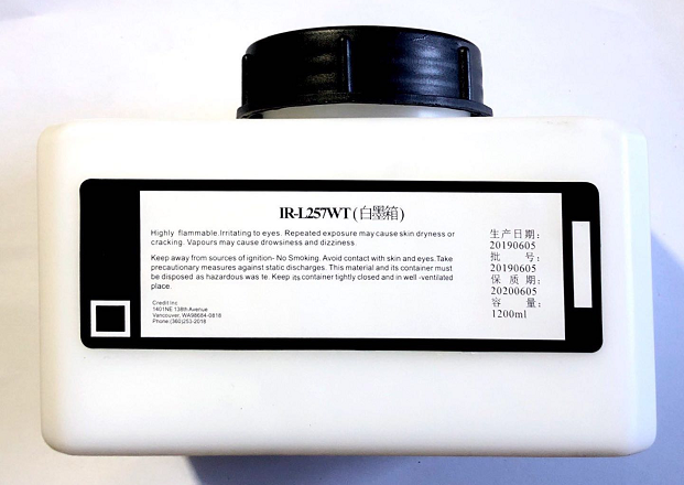 Solvent Based 257 White Ink