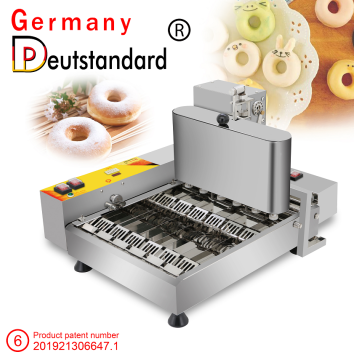 Commercial donut machine automatic 6 line donut machine