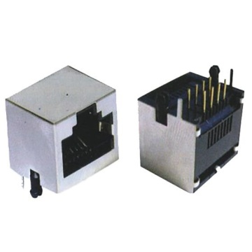 RJ45 Jack Side Entry 1X1P Full Shielded