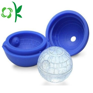 Silicone Freezie Molds Sphere Ice Ball Cube Tray