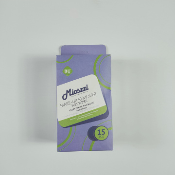 Customized Non-woven Spunlace Simple Makeup Wipes