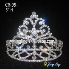 Rhinestone Hair Accessories Crown Tiaras