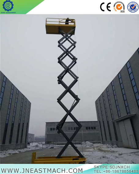 New Type Discount Ce Sgs Tuv 16m Self Propelled Scissor Lift Platform