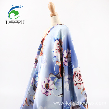 Chiffon Satin Digital Print Fabric