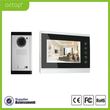 Handfree Memory Video Door Phone System