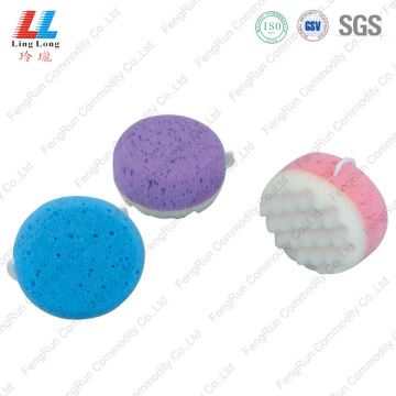 Attractive squishy style bath sponge