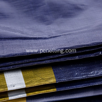 Dark Blue PE Tarpaulin with UV Treated Tent